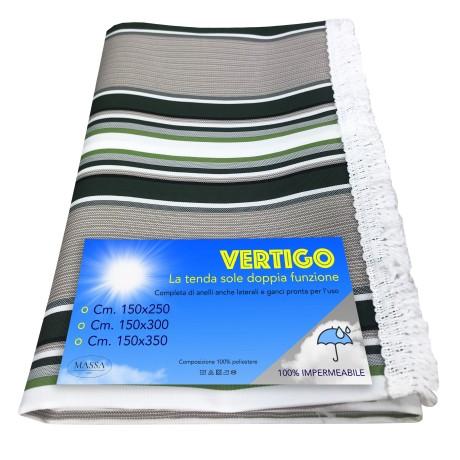 Vertigo Rideau de soleil extérieur pour jardin, balcon, vert, imperméable et hydrofuge