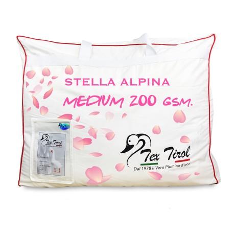 PIUMINO TEX TIROL © STELLA ALPINA MEDIUM 200 gsm. 100% PIUMINO OCA LEGGERO PRIMAVERILE ESTIVO