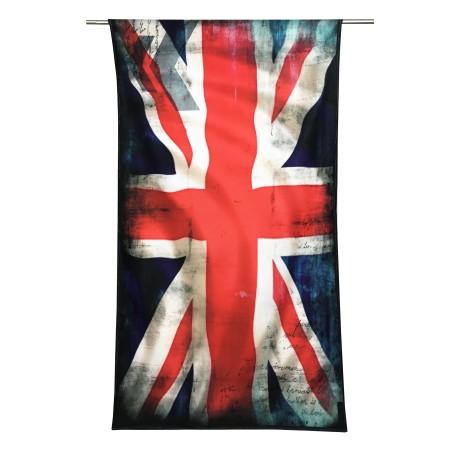 Serviette de plage éponge drapeau anglais taille grand cm. 90 x 170