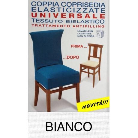 COPRISEDIA ELASTICIZZATO NEW YORK INTERO BIANCO