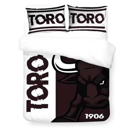 Housse de couette Sateen HD Photographique Toro 1906 Couleurs vintage