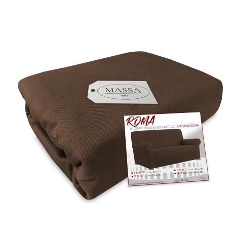 couvercle brun de sofa d'étirement