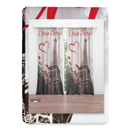 tenda stampata con Parigi Torre Eiffel