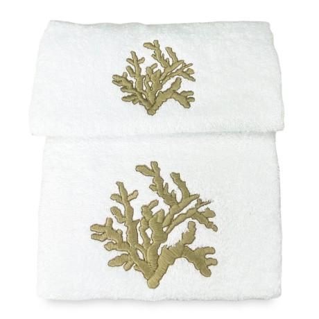 SET asciugamani CORALLO...