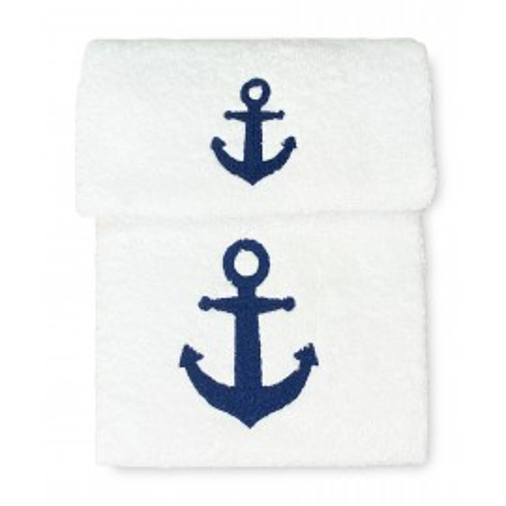 SET asciugamani ANCORA BLU...