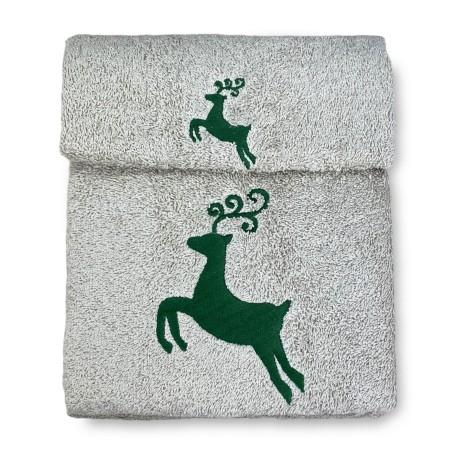 SET asciugamani CERVO VERDE...
