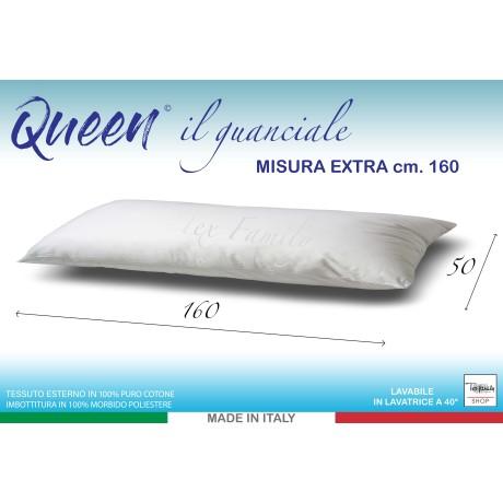guanciale cuscino misura lunga cm. 160