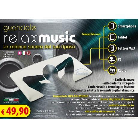GUANCIALE CUSCINO  MUSICALE CON ALTOPARANTI  RELAX MUSICA