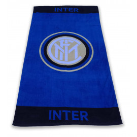 SERVIETTE DE PLAGE SPORT INTER GRANDE TAILLE 90 X 170 CM ORIGINALE INTERNATIONAL