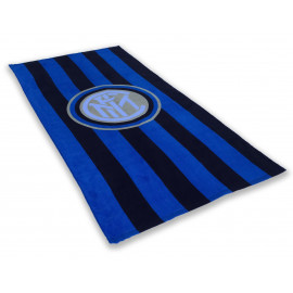 SERVIETTE DE PLAGE SPORT INTER DIMENSIONS 70 X 140 CM ORIGINALE INTERNATIONAL
