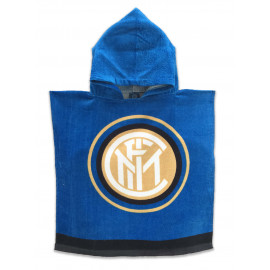 SERVIETTE BÉBÉ PONCHO FC INTER INTERNATIONALE D'ORIGINE