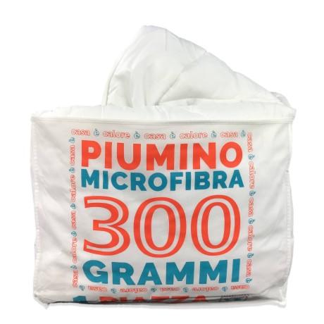 PIUMINO SINTETICO BIANCO INVERNALE 300 gr./mq.