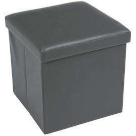 POUF CONTAINER REPOSE-PIEDS EDDY ROYAUME-GRIS