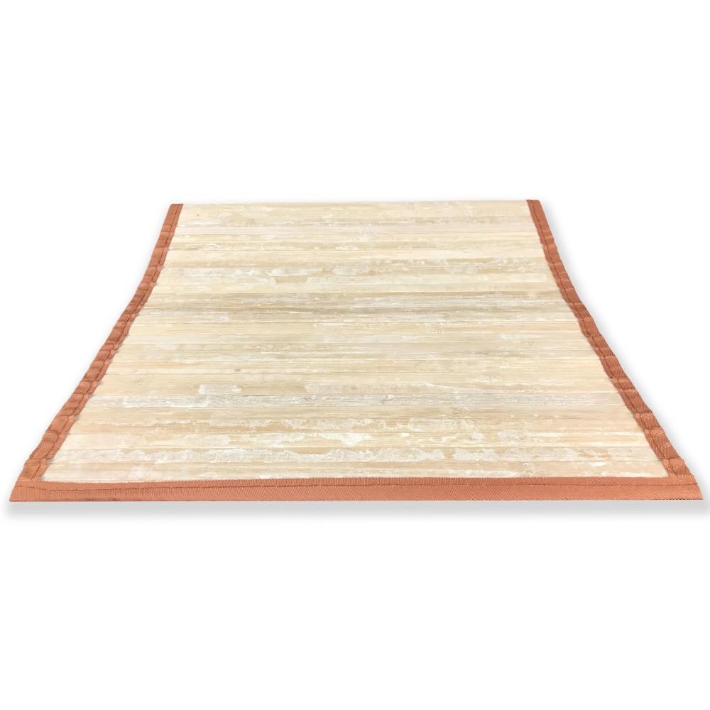 Tappeto in legno vintage ad effetto antichizzato ma davvero moderno