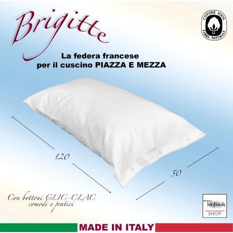 FEDERA BRIGITTE UNA PIAZZA E MEZZA MISURA FRANCESE CLIC-CLAC cm. 50 X 120