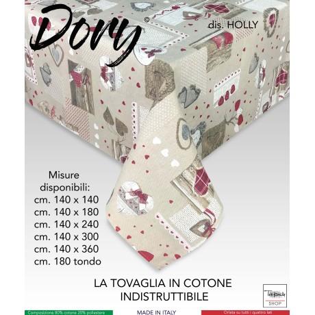 TOVAGLIA DORY TIROLESE CUORE HOLLY