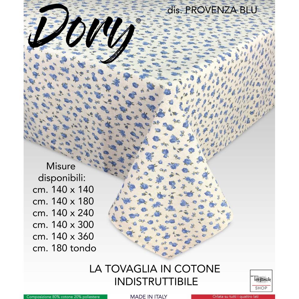 TOVAGLIA DORY FIORELLINO PROVENZALE AZZURRO