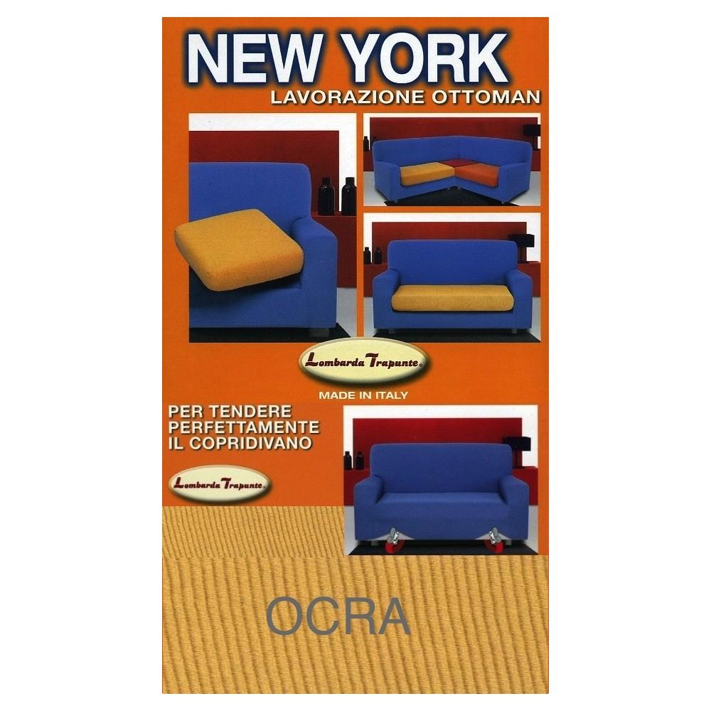 COPRIDIVANO NEW YORK OCRE fabriqué en Italie