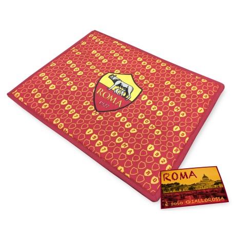 SET de table petit DÉJEUNER AMÉRICAIN, les ROMS de FOOTBALL OFFICIEL et une carte postale de ROME EST à SEULEMENT
