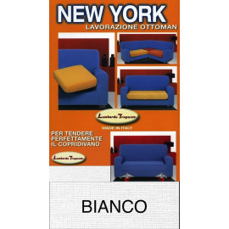 COPRIDIVANO NEW YORK BIANCO made in Italy