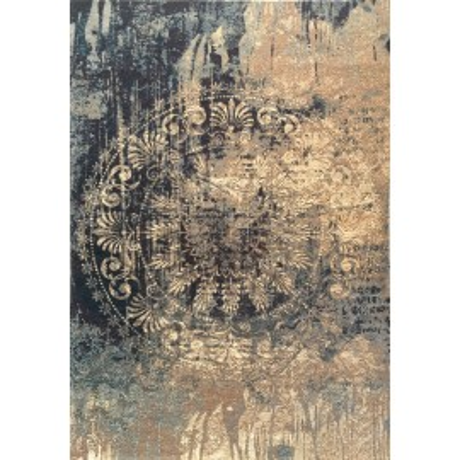 MODERNE TAPIS de STYLE ANCIEN en BLEU cm. 133X190