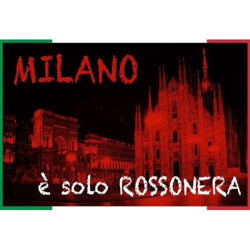 COPRILETTO TEX FAMILY A.C. MILAN TRAPUNTATO SINGOLO 1 PIAZZA WE ARE AC MILAN