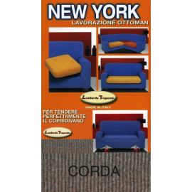 COPRIDIVANO NEW YORK CORDA made in Italy