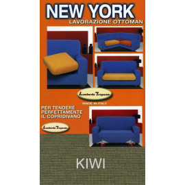 COPRIDIVANO NEW YORK VERDE KIWI made in Italy