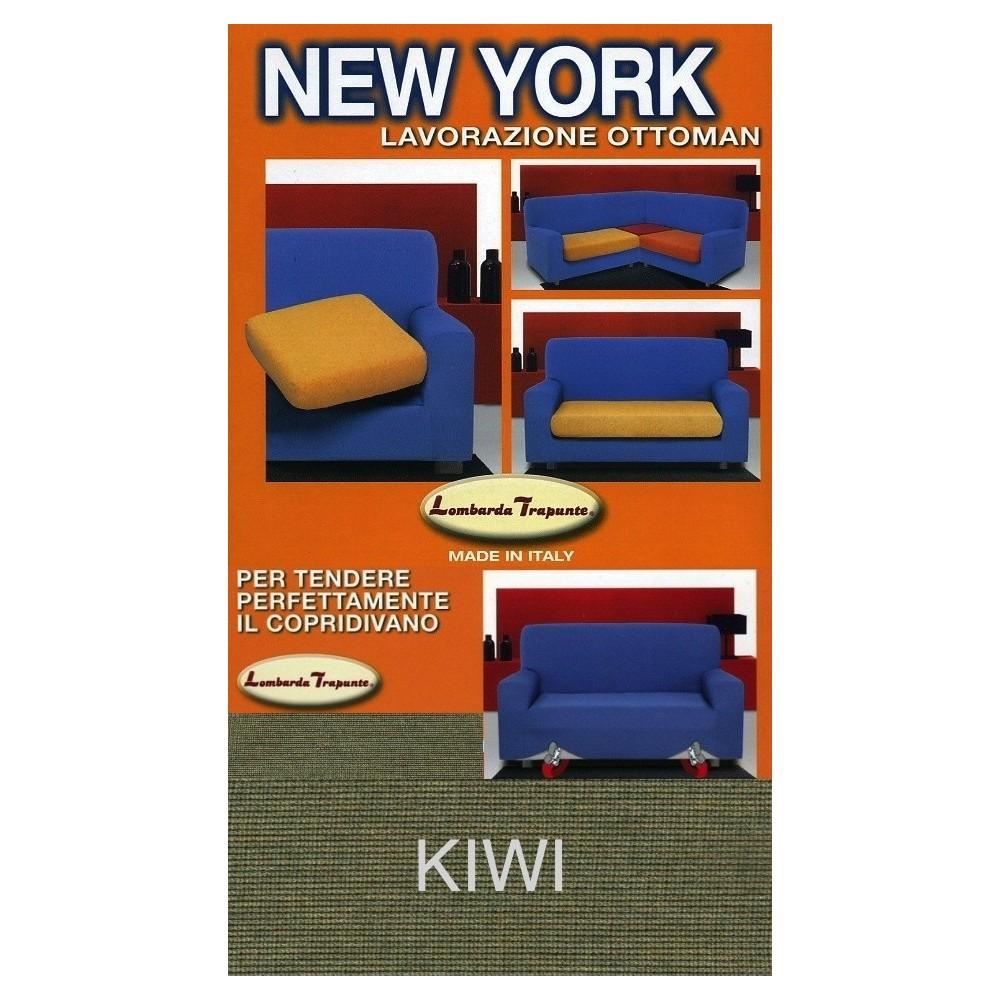 COPRIDIVANO NEW YORK VERDE KIWI made in Italy