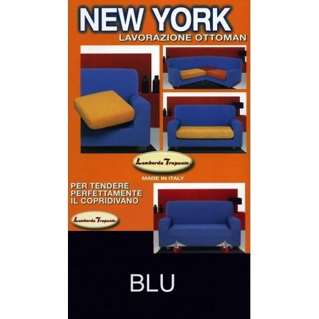 COPRIDIVANO NEW YORK BLU made in Italy