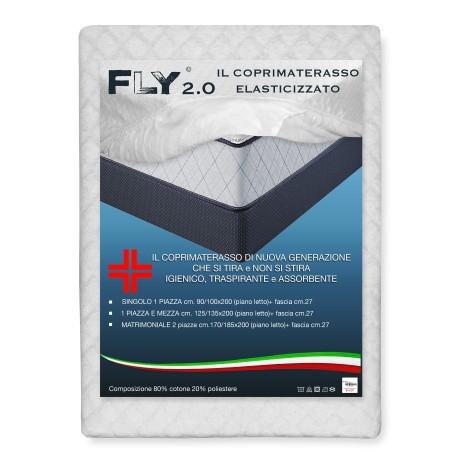 COUVERCLE EXTENSIBLE FLY 2.0 ÉPONGE JACQUARD avec des coins