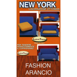 COPRIDIVANO NEW YORK FASHION ARANCIO made in Italy