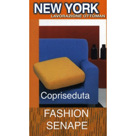 COPRISEDUTA DE MODE DE NEW YORK À LA MOUTARDE