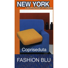 COPRISEDUTA DE LA NEW YORK FASHION-BLEU
