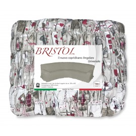 COPRIDIVANO ANGULAIRE UNIVERSELLE TYROL BRISTOL HOUX ROUGE