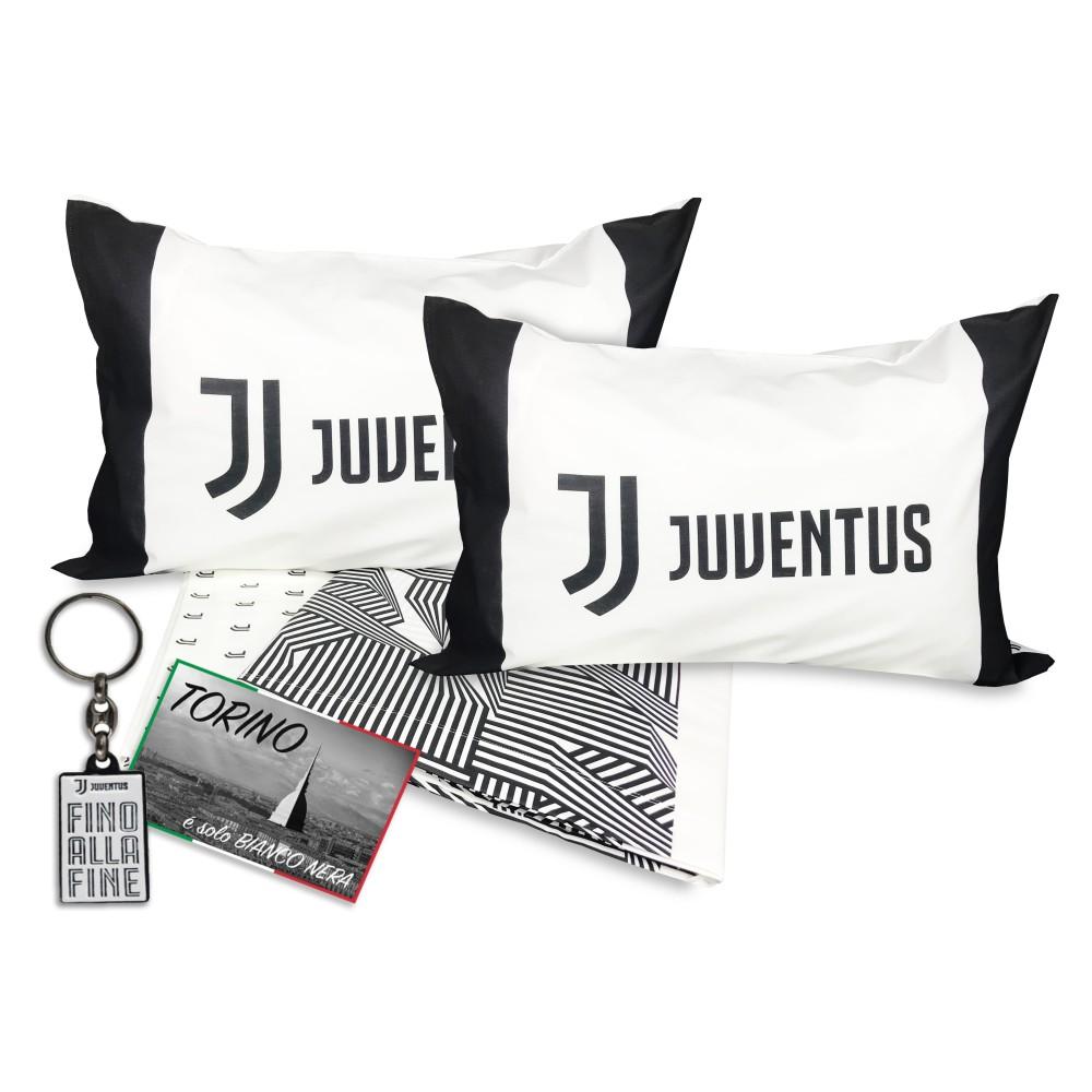 Copripiumino Matrimoniale Juventus.Copripiumino Matrimoniale Juve Originale F C Juventus 2 Piazze